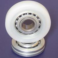 Plastic Bearings Wheel Trolley Pu Bearings Shower Door